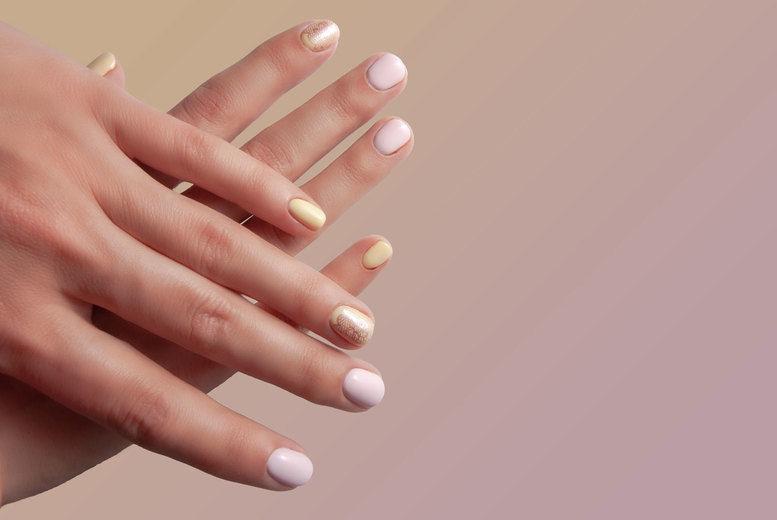 Shellac Manicure or Pedicure London Voucher