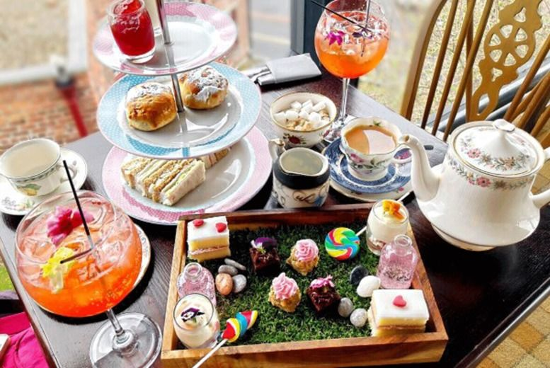 Mad Hatter Afternoon Tea Voucher - Scotland