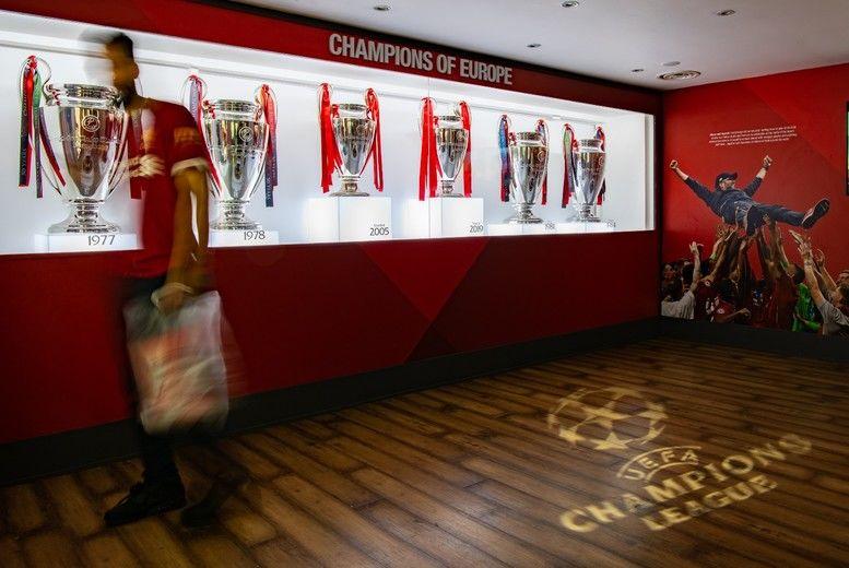Liverpool Anfield Stadium Tour Voucher