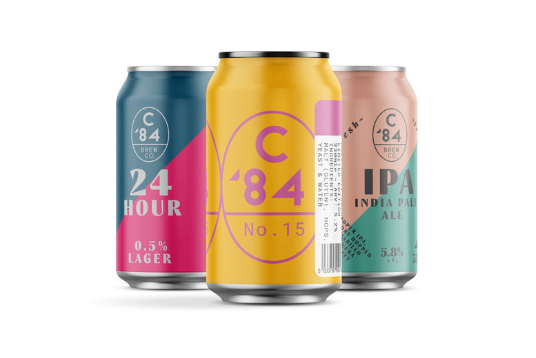 Craft Beer Tasting Box - 12 C84 Brew Co Cans
