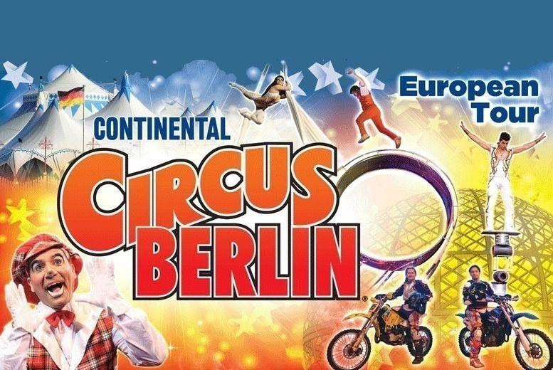Continental Circus Berlin Ticket Voucher