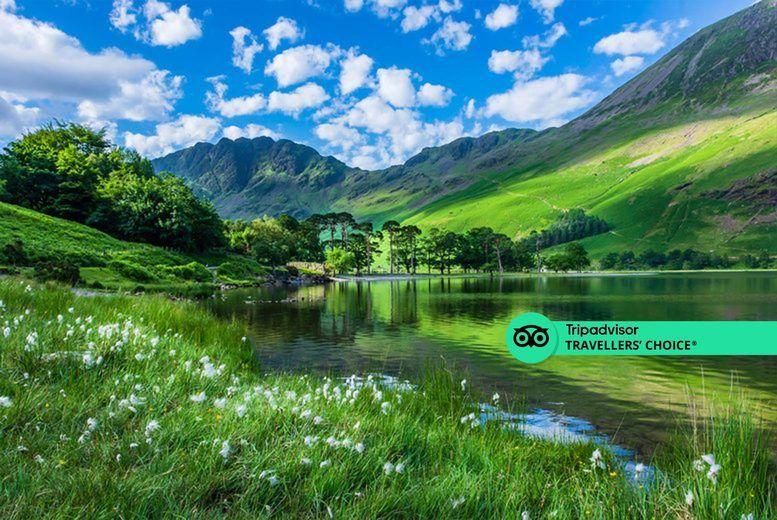 Lake District Stock Image Sticker