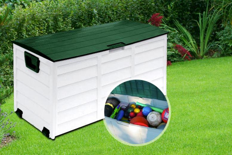 Rolling Garden Storage Chest