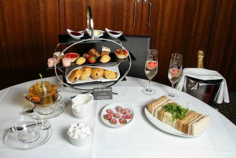 'Bottomless' Afternoon Tea for 2 Voucher