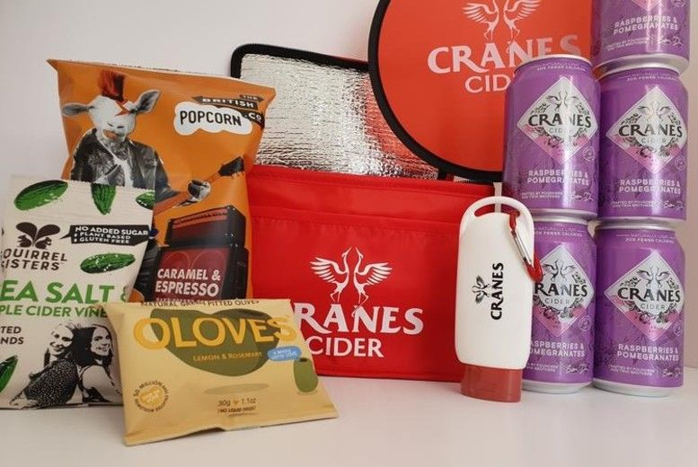 Cranes Drinks Cider Picnic Bundle Voucher