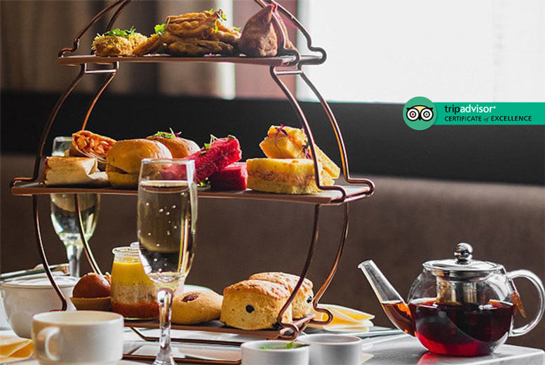 4* Afternoon Tea & Prosecco for 2 Voucher