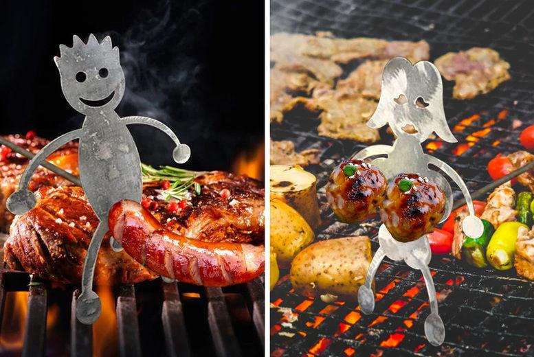 DomoSecret---Stainless-Steel-Barbecue-Stick-Hotdog-Boy-Girl-Roaster-Cooker-Tool