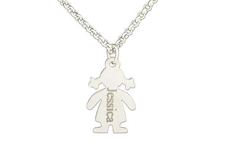 Personalised-Children-Girl-Plated-Family-Engraved-Necklace-2