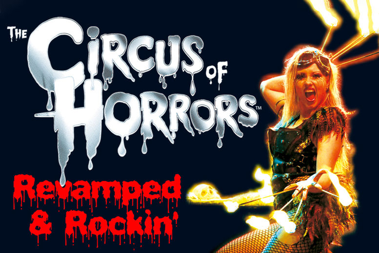 Circus of Horrors Liverpool Deal