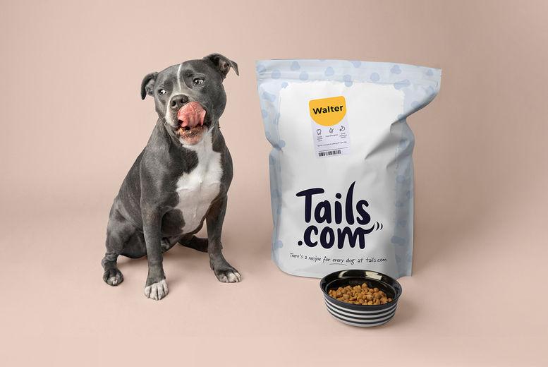 tails.com Dog Food: 1-Month Supply Voucher
