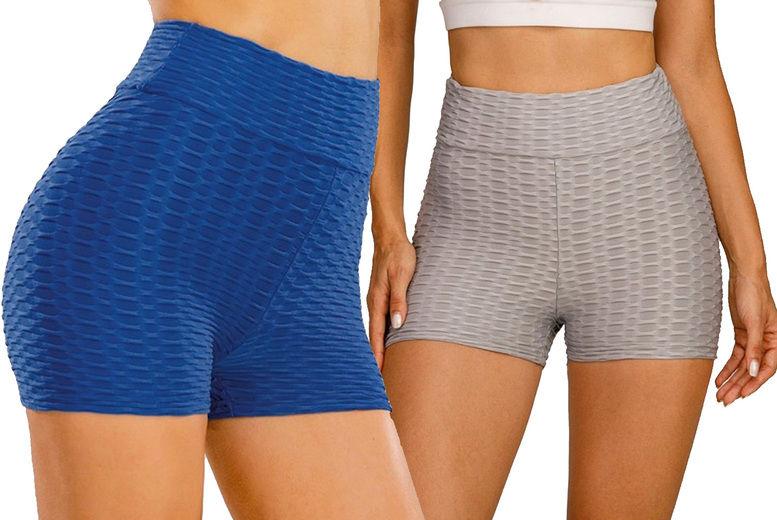PinkPree---Women's-Push-Up-Yoga-Shorts-Sports-Fitness-Gym-Pants