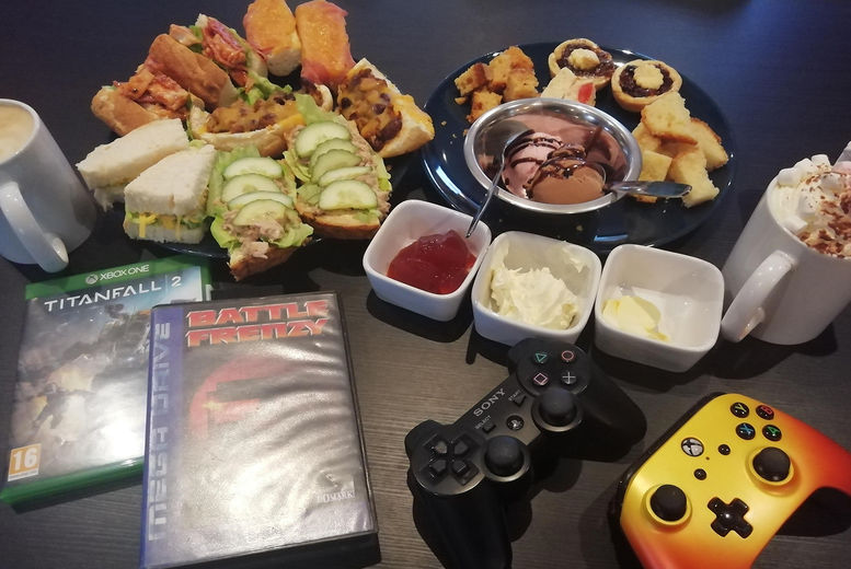 Extra Life Sheffield Gaming Afternoon Tea for 2