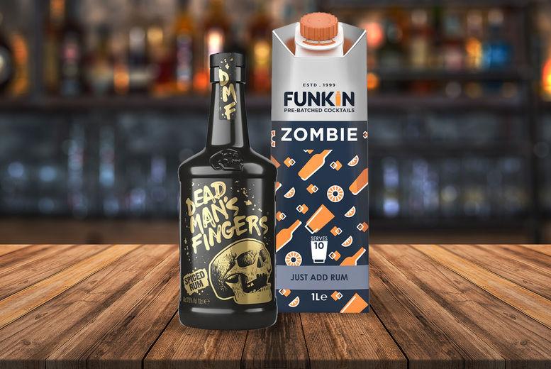 FUNKIN Zombie & Spiced Dead Mans Finger Rum