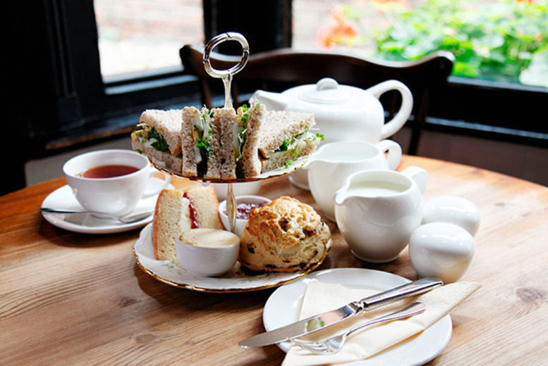 Afternoon Tea for 2 Liverpool Voucher