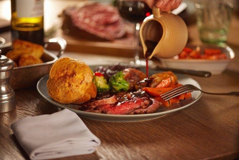 Sunday Roast for 2 Voucher - Manchester
