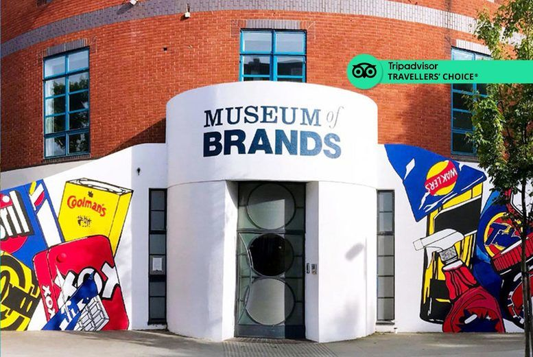 Entry to Museum of Brands for 2 Voucher