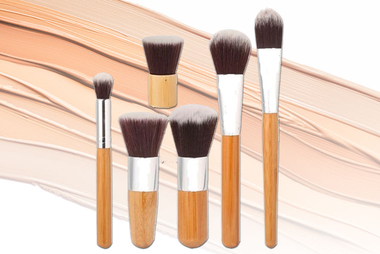 Forever-cosmetics---Bamboo-Makup-Brush-Sets1