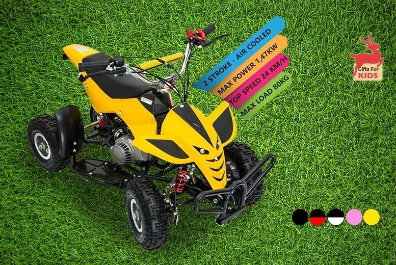 49cc Mini Petrol Quad Bike - 5 Colours! | Shop | Wowcher