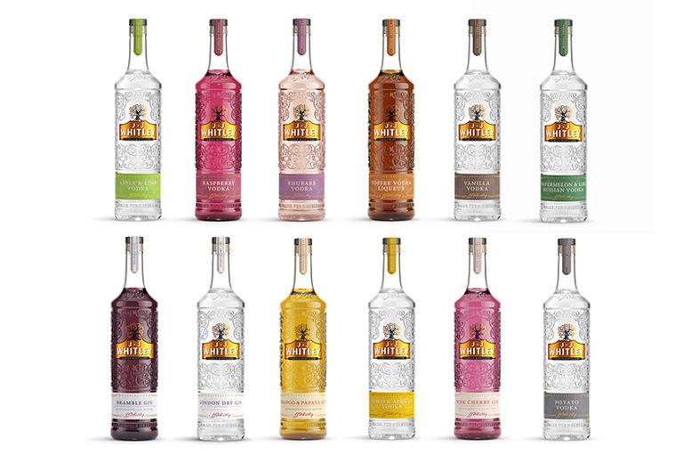 JJ Whitley Vodka or Gin Voucher