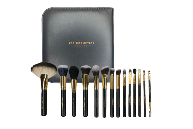 Luxury-14pc-Jos-Cosmetics-Makeup-brush-Set-with-Carry-Case-and-Gift-Box-2