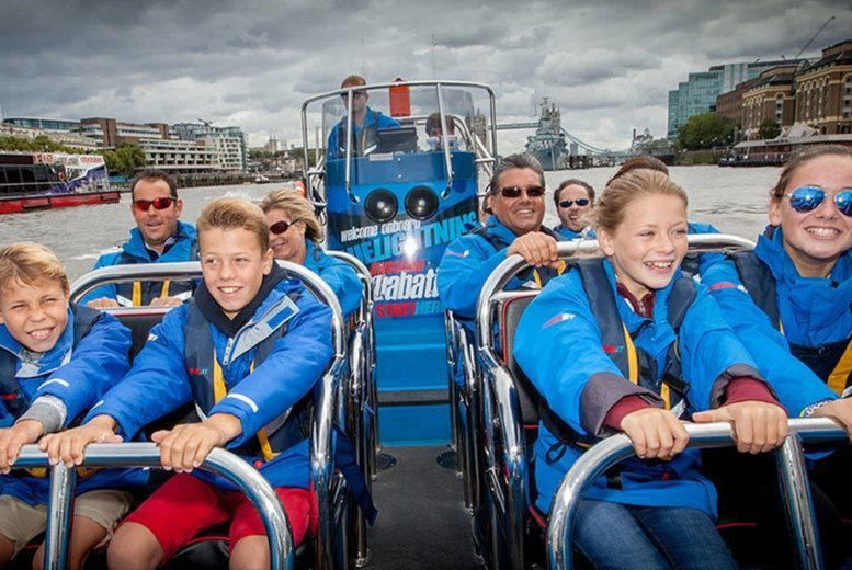 ThamesJet Speed Boat Experience