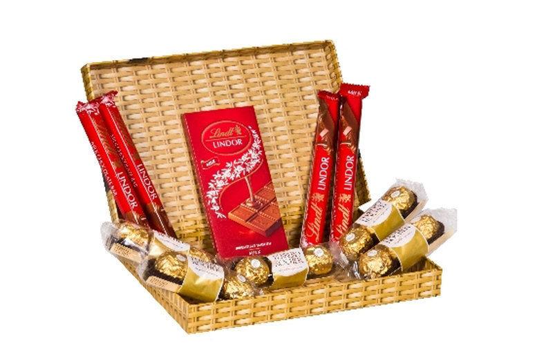 Ferrero & Lindt Chocolate Letterbox Gift