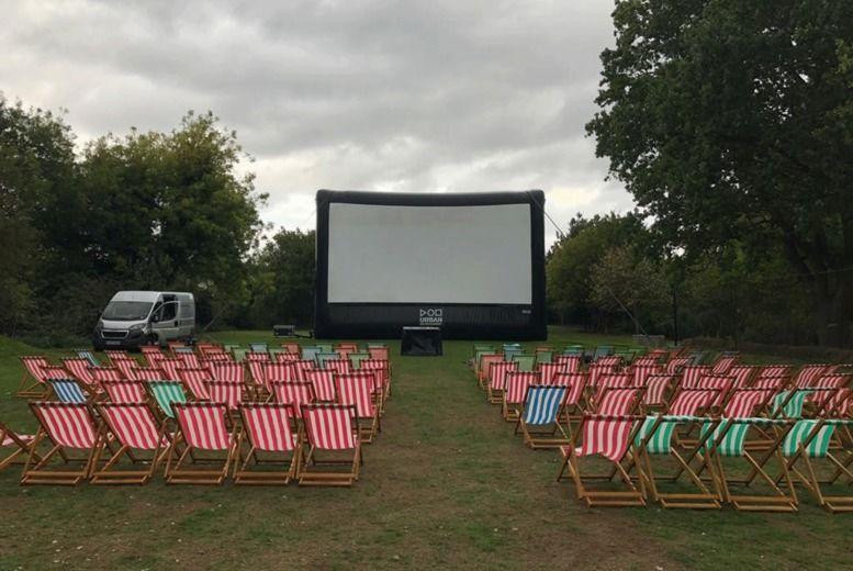 Outdoor Cinema Ticket Voucher - 2 Locations!