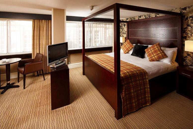 Mercure Glasgow City Hotel - Bedroom