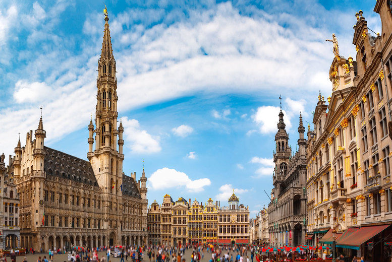 Brussels Stock Image