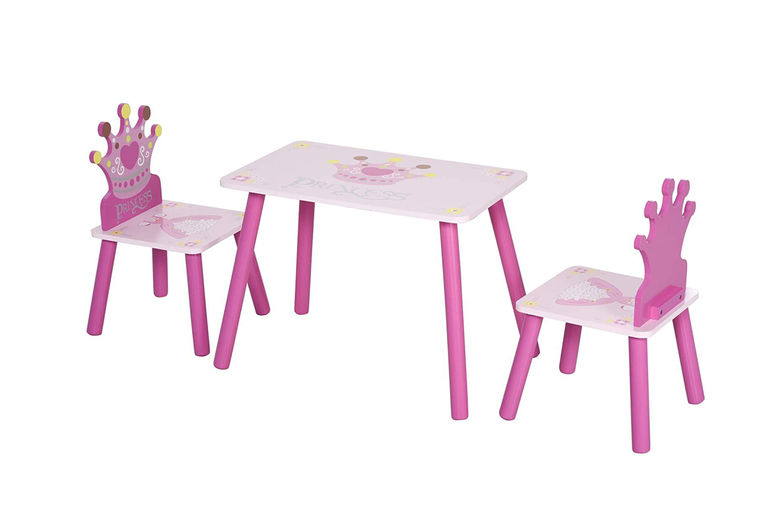 Kids-Wooden-Table-Chair-With-Crown-Pattern-Gift-2