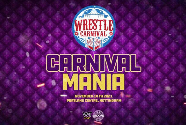 Wrestle Carnival Ticket Voucher