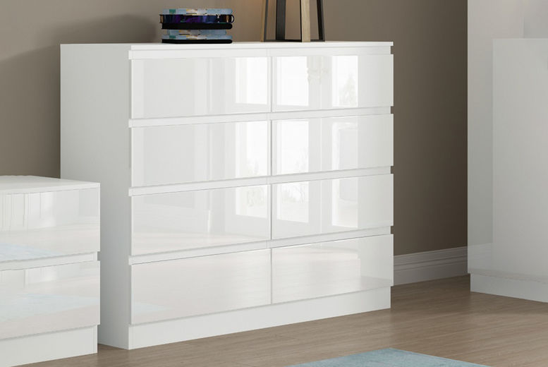 Narvik-Modern-8-Drawer-Chest-White-Gloss-1