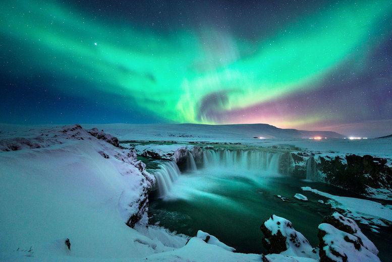 Northern Lights, Iceland Stock Image