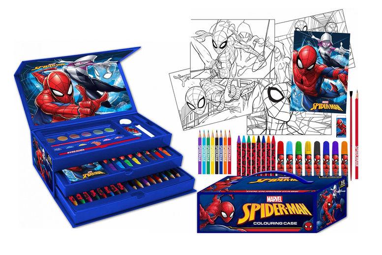 Amazing-Spiderman-Kids-52-Pieces-Colouring-Art-Case