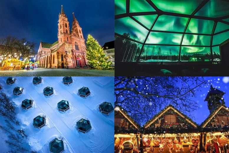 Mystery Christmas Holiday: Lapland, Glass Igloo & 5* Xmas Markets