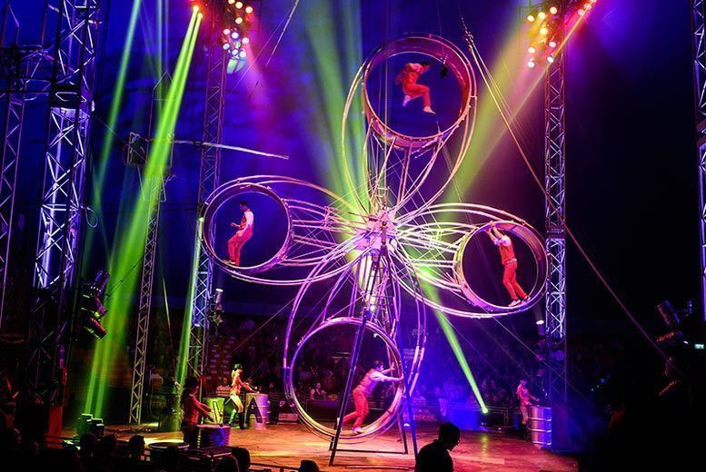 Circus Extreme Ticket Voucher - Plymouth