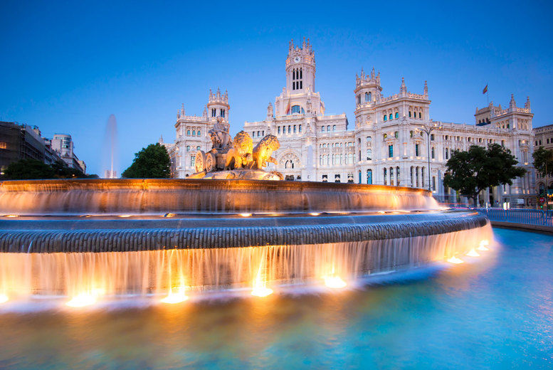 Madrid-Fountain
