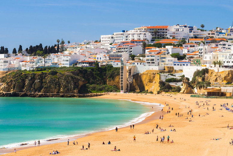 Albufeira, Portugal Stock Image