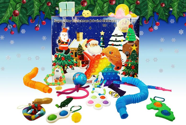 GOLD-BANKER-24pc-Fidget-Advent-Calendar-NEW-LEAD