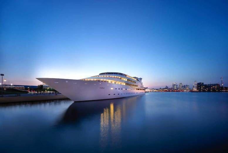 Sunborn London Yacht Hotel – Afternoon Tea For 2
