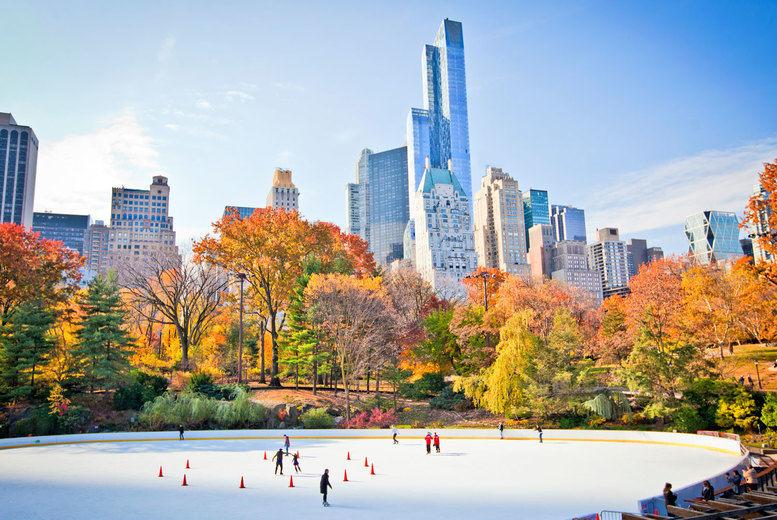 Central Park-Ice Skating
