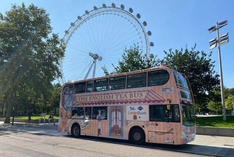 London Bus Tour Afternoon Tea Voucher - London