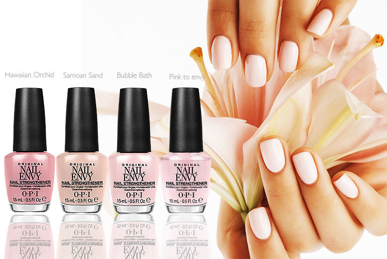 15ml OPI Nail Envy Nail Strengthener - 4 Colours! | Shop | Wowcher