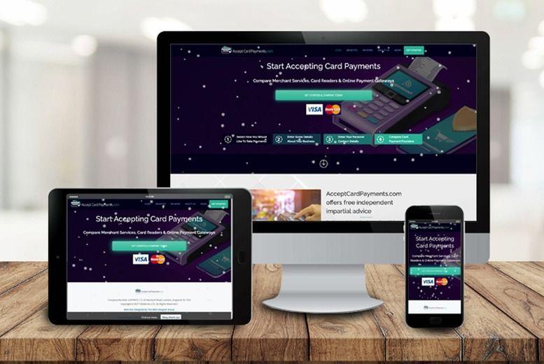 Professional Website Design Voucher