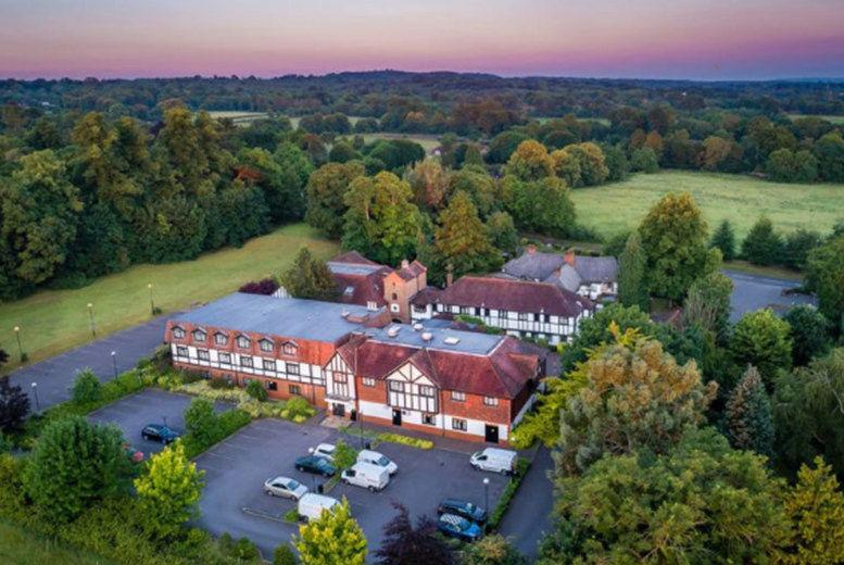 Thatchers Hotel-Aerial