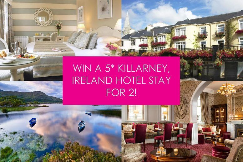 Win A 4* Killarney, Ireland Hotel Stay For 2 - Competition