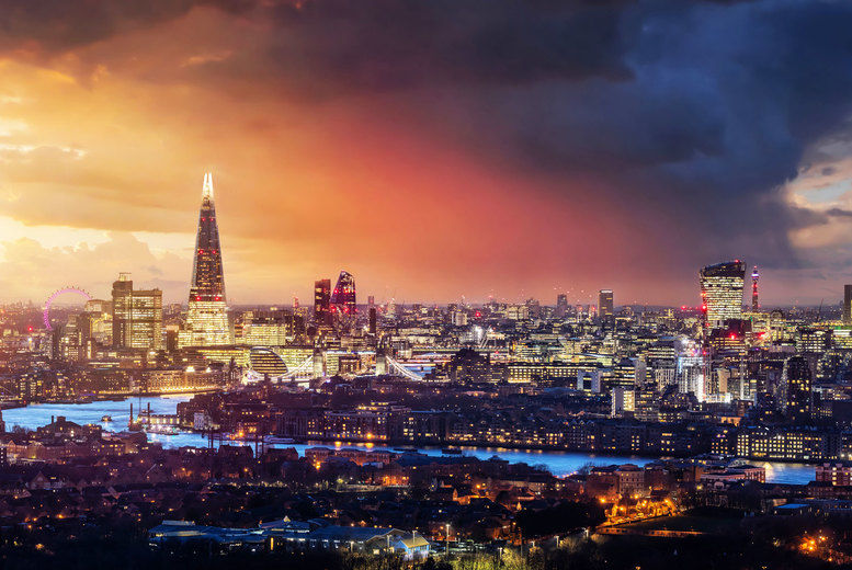 London-Skyline Stock Image