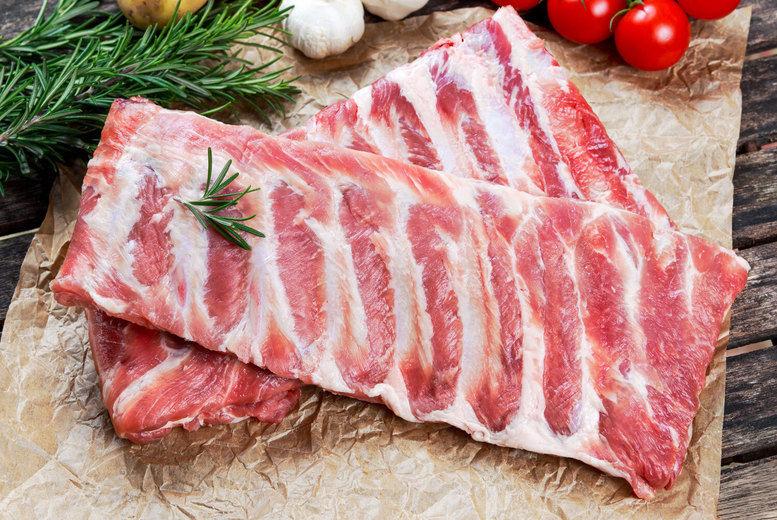 36pc Meat Hamper - BBQ Rib Hut1