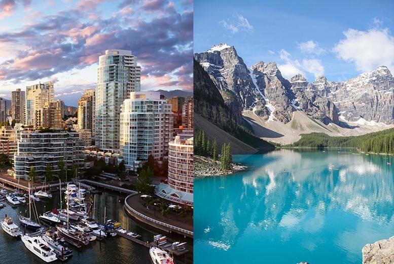 Canada Split Stock Image