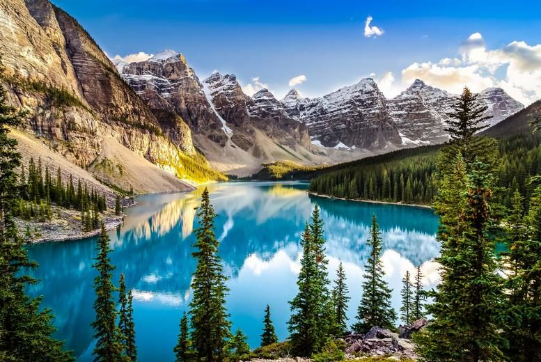 Rocky Mountains, Canada Stock Image